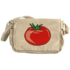 Red Tomato Canvas Messenger Bag