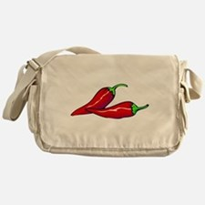 Red Hot Peppers Canvas Messenger Bag