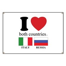 ITALY-RUSSIA Banner