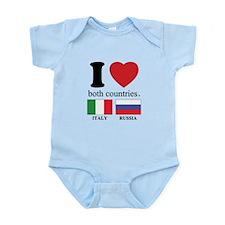 ITALY-RUSSIA Infant Bodysuit