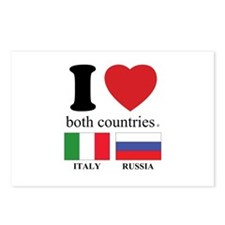 ITALY-RUSSIA Postcards (Package of 8)
