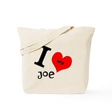 I <3 my Joe Tote Bag