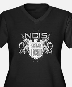 Grunge Dage NCIS Women's Plus Size V-Neck Dark T-S