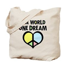 One World Peace Tote Bag