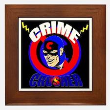 CRIME CRUSHER Framed Tile