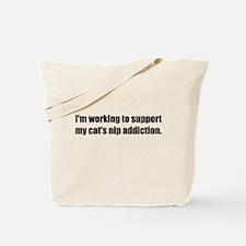 Catnip Addiction (Tote Bag)
