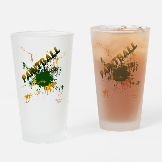 Paintball Drinking Glass