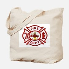 Cute Firefighter Tote Bag