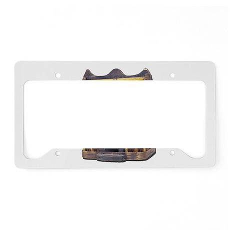 Rustics_Bamboo_Birdhouse License Plate Holder