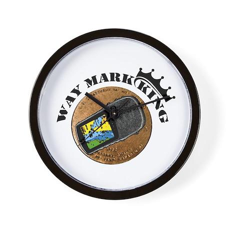 Waymarking King Wall Clock