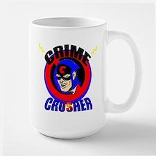 CRIME CRUSHER Large Mug