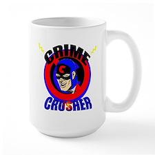 CRIME CRUSHER Coffee Mug