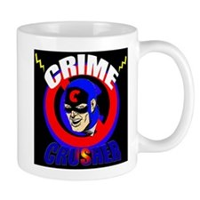 CRIME CRUSHER Small Mug