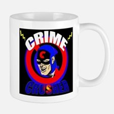 CRIME CRUSHER Small Small Mug