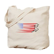 Athletics Runner - USA Tote Bag