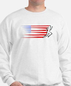 Athletics Runner - USA Sweatshirt