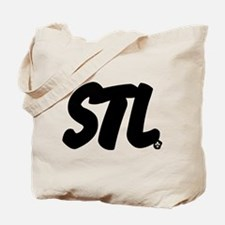 STL Brushed Tote Bag