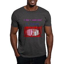 """Medication"" Black T-Shirt"