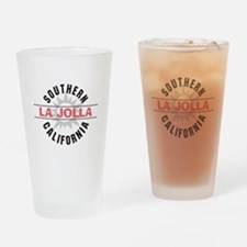 La Jolla Califronia Drinking Glass