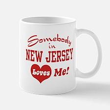 Somebody in New Jersey Loves Me Mug