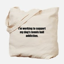 Tennis Ball Addiction (Tote Bag)