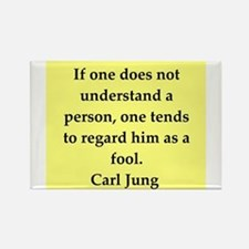 Carl Jung quotes Rectangle Magnet