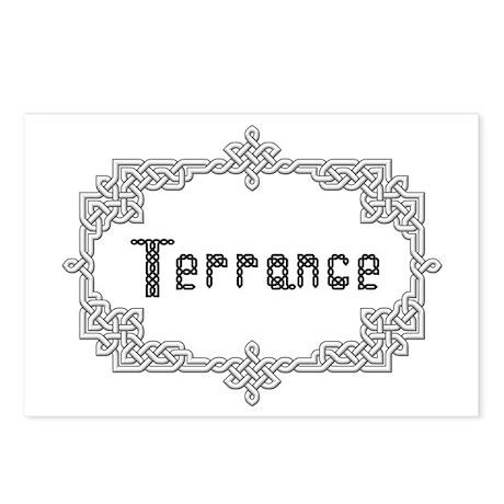 """Celtic Knots Terrance"" Postcards (Package of 8)"