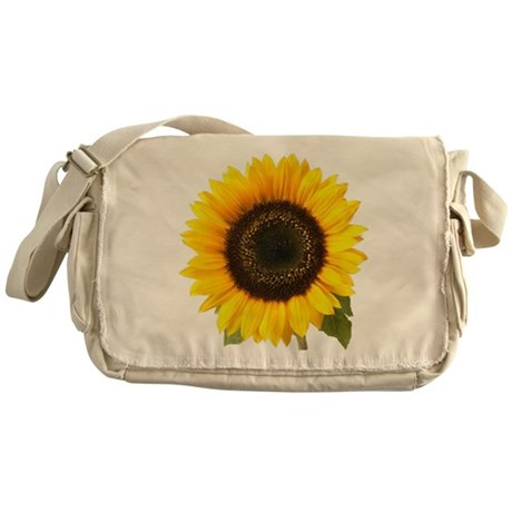 Sunflower Messenger Bag