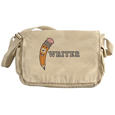 Pencil Writer Stuff Messenger Bag