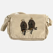 TWIN EAGLES Messenger Bag