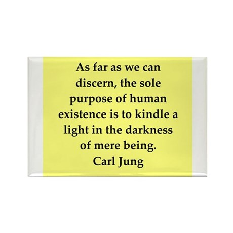 Carl Jung quotes Rectangle Magnet (10 pack)