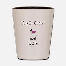 Ass in Chair Stuff Shot Glass