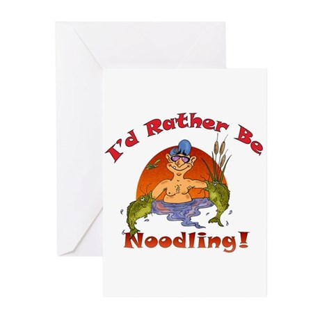 THE NOODLER Greeting Cards (Pk of 10)