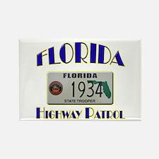 Florida Highway Patrol Rectangle Magnet