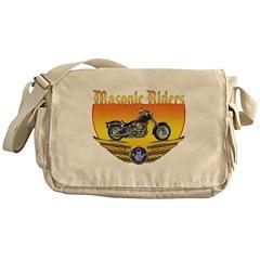 Masonic Bikers Messenger Bag