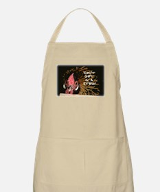 """Funny Chicken Saying """"Don't G Apron"""