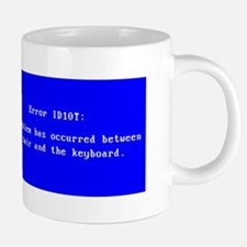 ID10T_blue.png 20 oz Ceramic Mega Mug