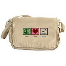 Peace Love Diving Messenger Bag