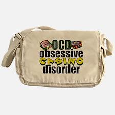 Funny Casino Messenger Bag