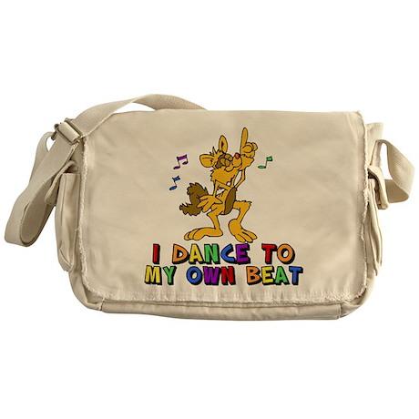 Dancing Cat Messenger Bag