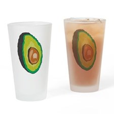 Avocado Drinking Glass