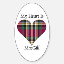 Heart - MacGill Decal