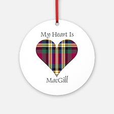 Heart - MacGill Ornament (Round)