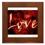 French Flavors - Love In The Making - Framed Tile