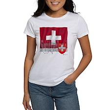Silky Flag of Switzerland Tee
