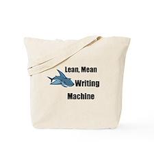 Lean Mean Writing Machine Stu Tote Bag