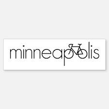 Bike Minneapolis Bumper Bumper Sticker