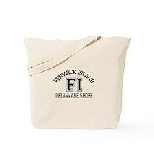 Fenwick Island DE - Varsity Design Tote Bag