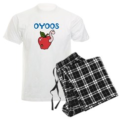 OYOOS Kids Appleworm design Pajamas