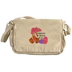 Thinking of You Bunnie Design Messenger Bag